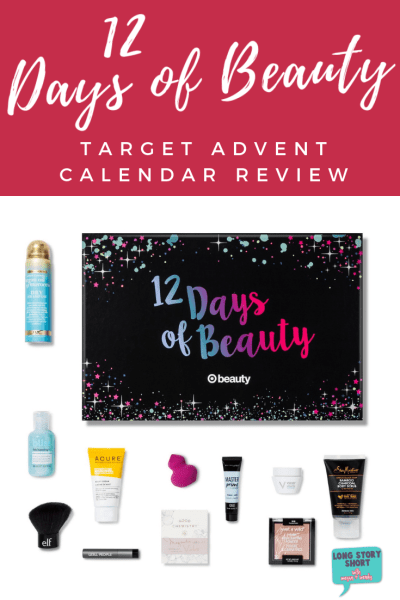 Target Beauty Advent Calendar Review
