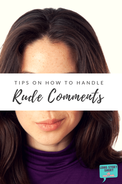 Tips on How to Respond to Inappropriate Comments
