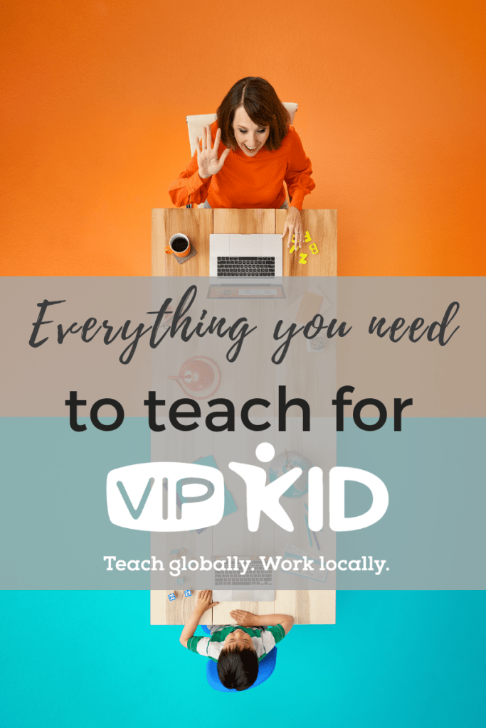 Everything a New VIPKID Teacher needs for their classroom: From the technical items every VIPKID teacher needs, to the classroom props, we're listing everything you need to get started with VIPKID.