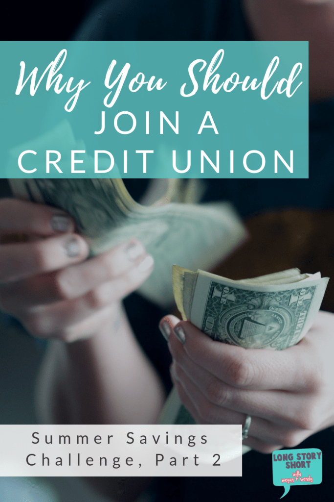 Summer Savings Challenge Part 2 - Why You Should Choose a Credit Union. We're debunking the common myths surrounding credit unions and talking about why credit unions are the smart choice for your money.