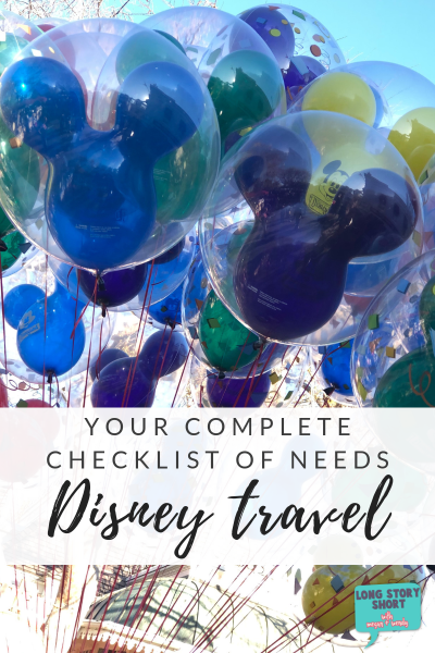 Everything you need for a Disney vacation and BONUS - it's all on Amazon!