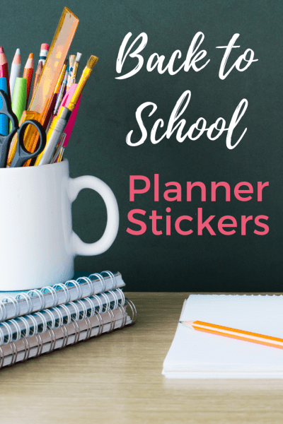 Back to School Planner Stickers - Whether you use an Erin Condren, a Plum Paper Planner or a different paper planner of your choice, it's time to start prepping your planner spread for back to school with our collection of back to school planner stickers. We've got full spreads and icon stickers represented so all planner styles are represented to keep you organized.