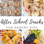 After School Snacks for Hungry Kids