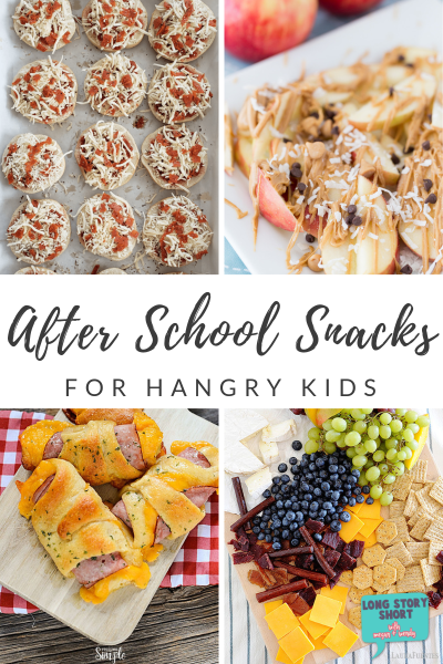 20+ ideas for after school snacks including a round up of our favorite fruit forward snacks, homemade snacks kids can make themselves and easy options from Trader Joe's.