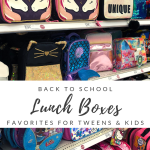 Cool Lunch Boxes for Back to School