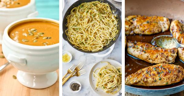 October Meal Plan Week 2