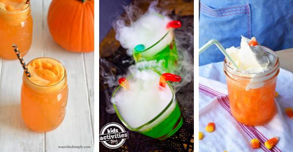 Festive Halloween Drinks for Kids