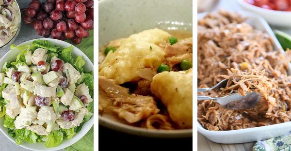October Meal Plan Week 3