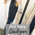Old Navy Cardigan Try On