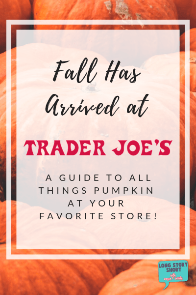 Best Pumpkin Products at Trader Joe's