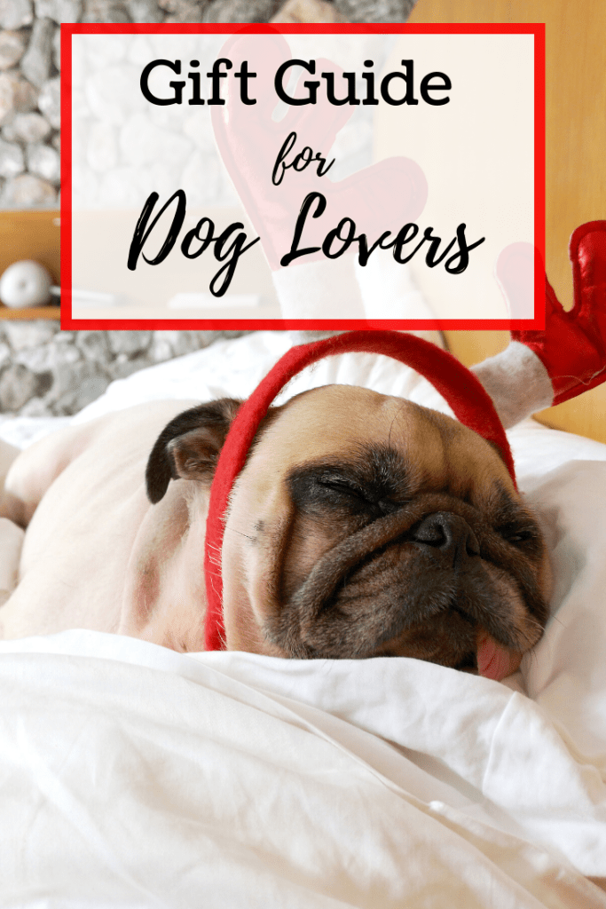 A gift guide for dog lovers, you say? We're got some of the most adorable gifts for anyone who loves their dog. Socks, wine glasses, and so much more! | #giftguide #doglovers