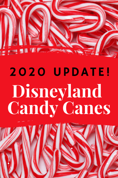 Disneyland Candy Canes 2020 Update - Will Disneyland sell its famous hand pulled candy canes in the 2020 holiday season now that California Adventure has opened for shopping and dining?