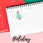 Holiday Planner Stickers for Christmas, Hanukkah & New Year's Eve