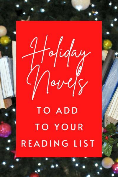 Cozy Holiday Novels to add to your holiday reading this