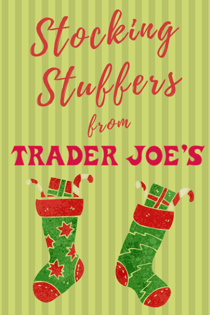 Stocking stuffers from Trader Joe's? You bet! Here's a list of 9 things you should pick up at Trader Joe's on your next trip. | #TraderJoes #StockingStuffers