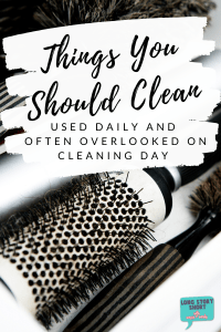 We're going to bet these three things need attention in your home. How to easily clean your tweezers, hairbrushes and other dirty things at home.