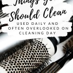 How to Clean Your Tweezers and Hairbrushes