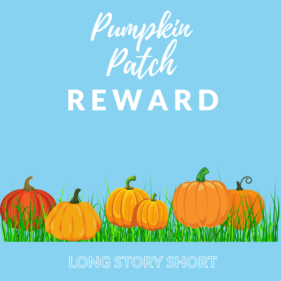 Pumpkin Patch Printable Reward System - For use in online teaching environments like VIPKID and GogoKid