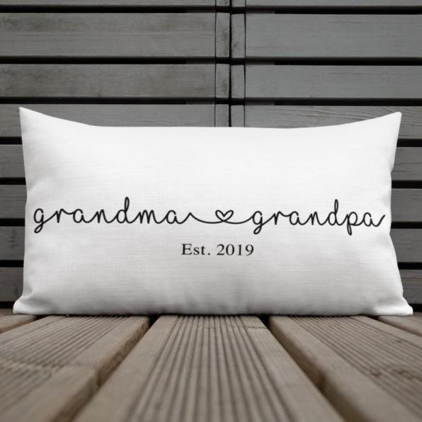 Grandparent Pillow - Gift Guide for Grandparents