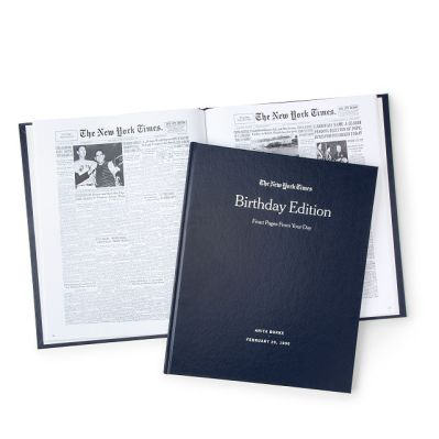 New York Times Birthday Book gift