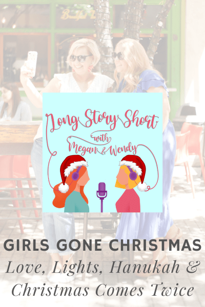 Double Girls Gone Christmas - Love Lights Hanukah and Christmas Comes Twice