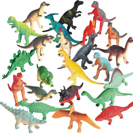 Every kid loves a dinosaur at some point! Love this multi-pack of colorful prehistoric creatures for all kids.