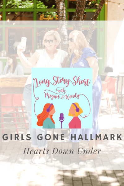 "NEW PODCAST: Megan and Wendy review the Hallmark movie ""Hearts Down Under"" starring Cindy Busby. This movie was originally called ""Romance on the Menu"" and was released in 2020 on Netflix Australia. So, how and why did Hallmark acquire this movie? #podernfamily #hallmarkies #hallmarkmoviereviews #girlsgonehallmark"