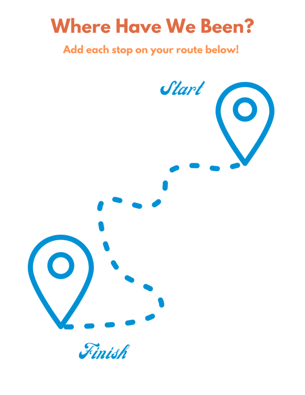 Create Your Own Road Trip Map for Kids