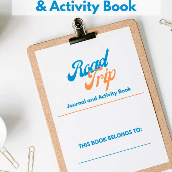 Free Printable Road Trip Journal and Activity Book