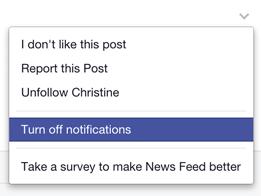 fb notifications