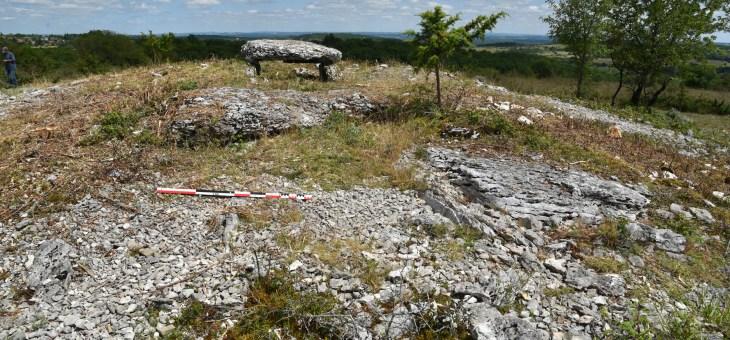 Reportage sur les fouilles au dolmen de Pech Laglaire