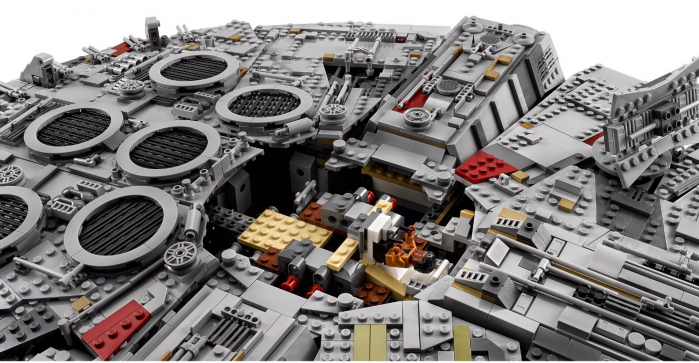 lego millennium falcon 1