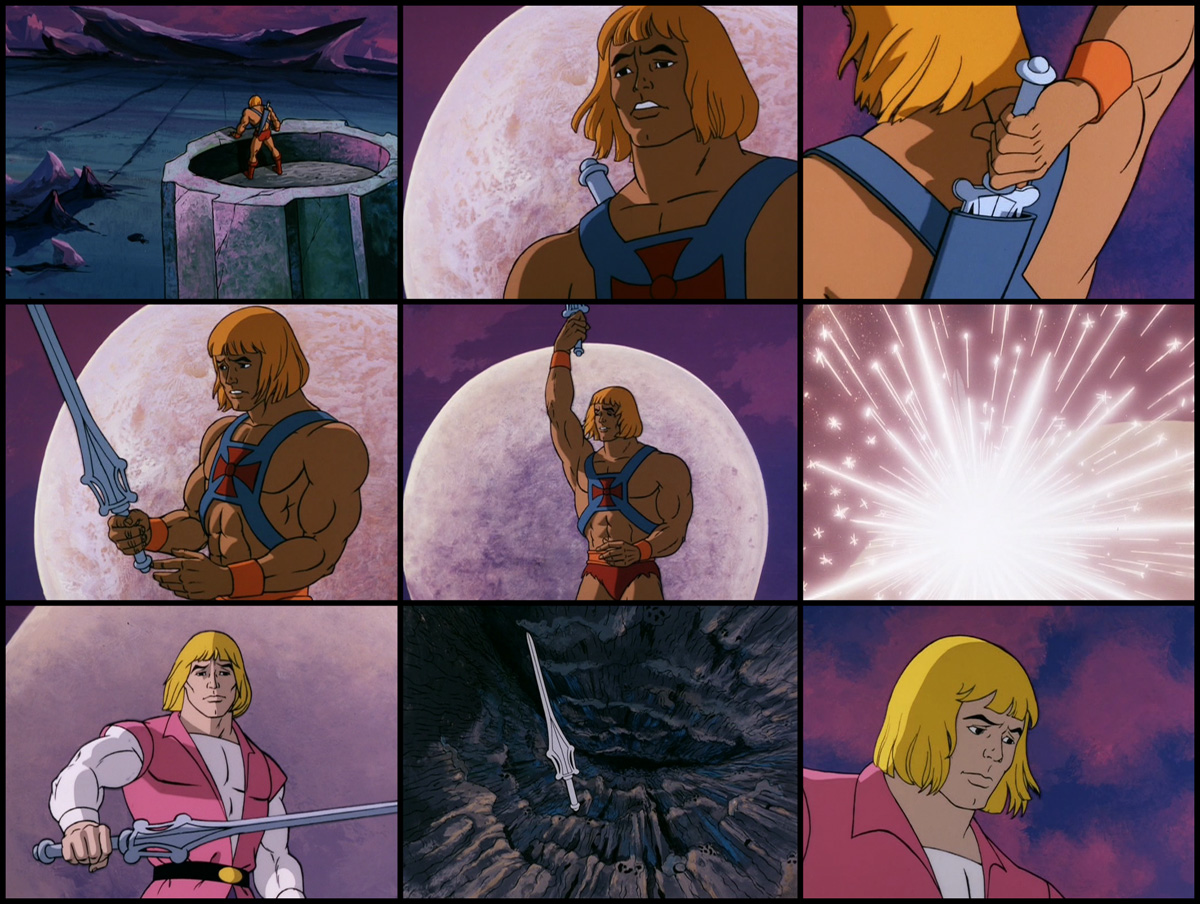 Transforming he man masters of the universe vintage wave motu