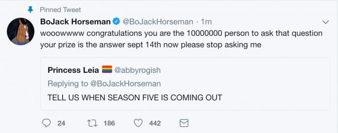 BoJack Horseman – Annunciata la data d'uscita della quinta stagione