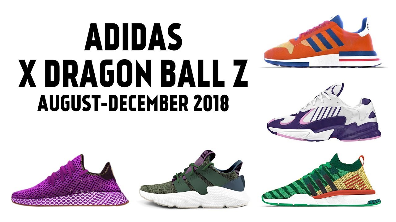 scarpe adidas ispirate a dragon ball