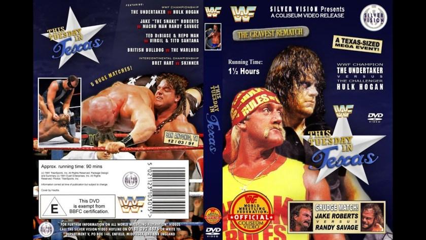 Wrestling Vintage – Hulk Hogan vs The Undertaker, Survivor Series 1991