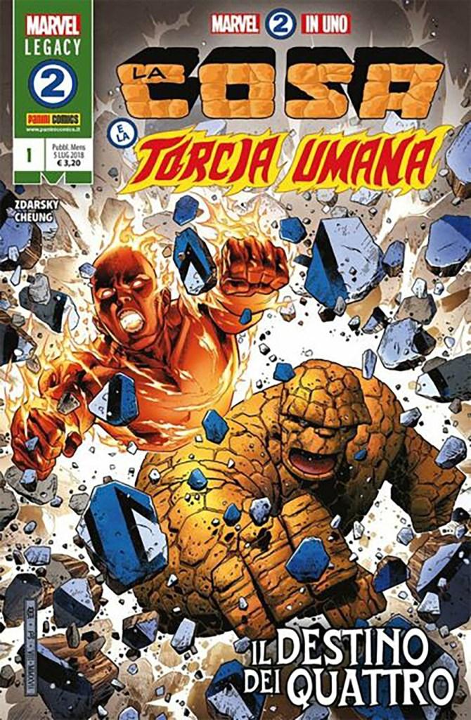 Marvel 2 in Uno: il viaggio, la ricerca e la Speranza