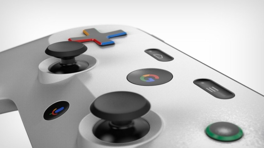 google-gaming-console-controll