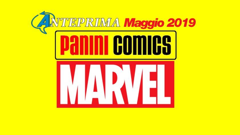 panini comics marvel uscite maggio 2019