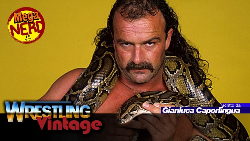 wrestling vintage jake the snake