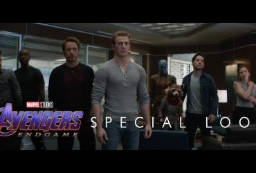 avengers endgame first look