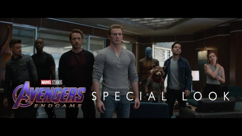 avengers endgame first look