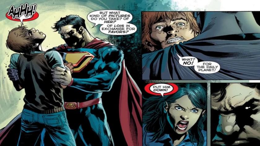 forever evil superman