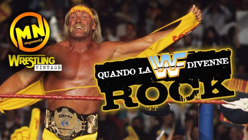 copertina wrestling vintage rock