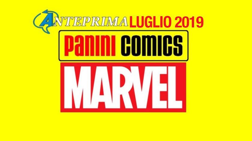 Panini Comics – Le uscite Marvel di Luglio 2019