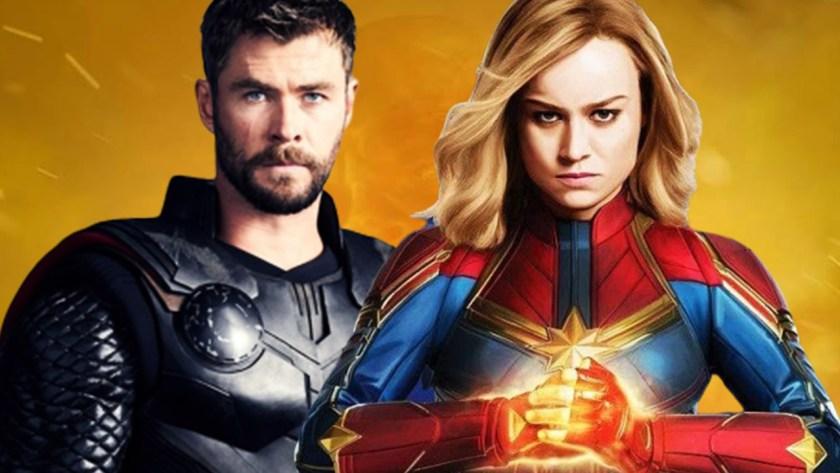 Thor contro Captain Marvel