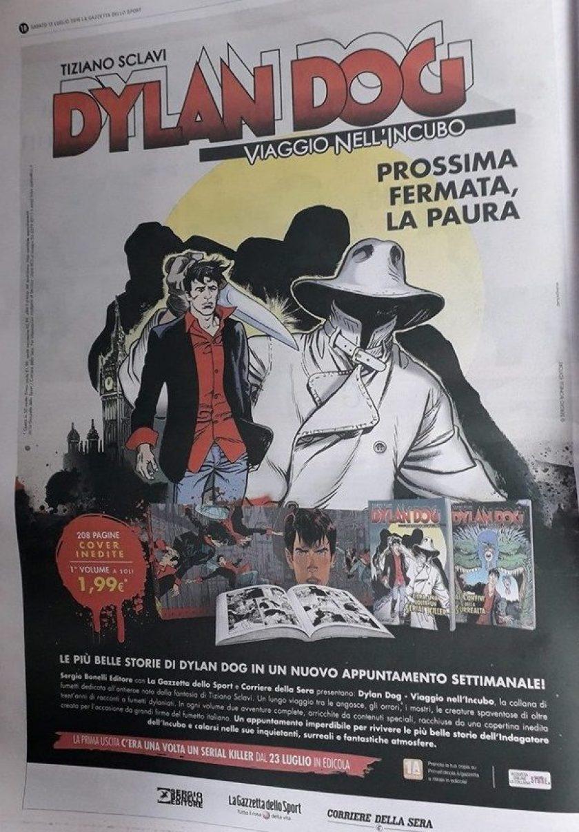 Dylan Dog – In arrivo una nuova collana con Gazzetta dello Sport e Corriere della Sera