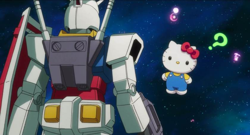 Gundam vs Hello Kitty – Ecco il trailer del crossover più folle di sempre