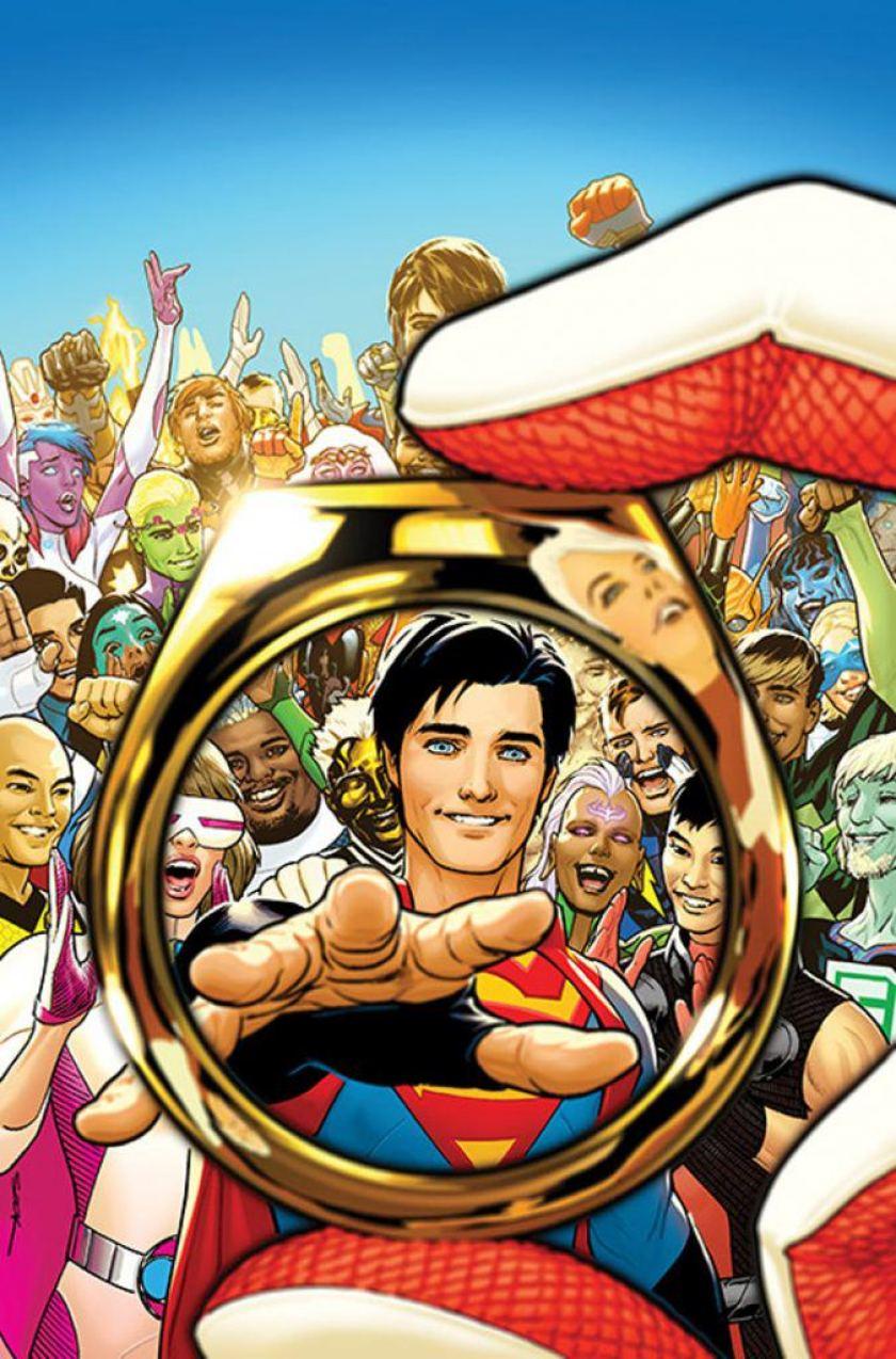 DC Comics – Il futuro di Jon Kent è con la Legione dei Super-Eroi?