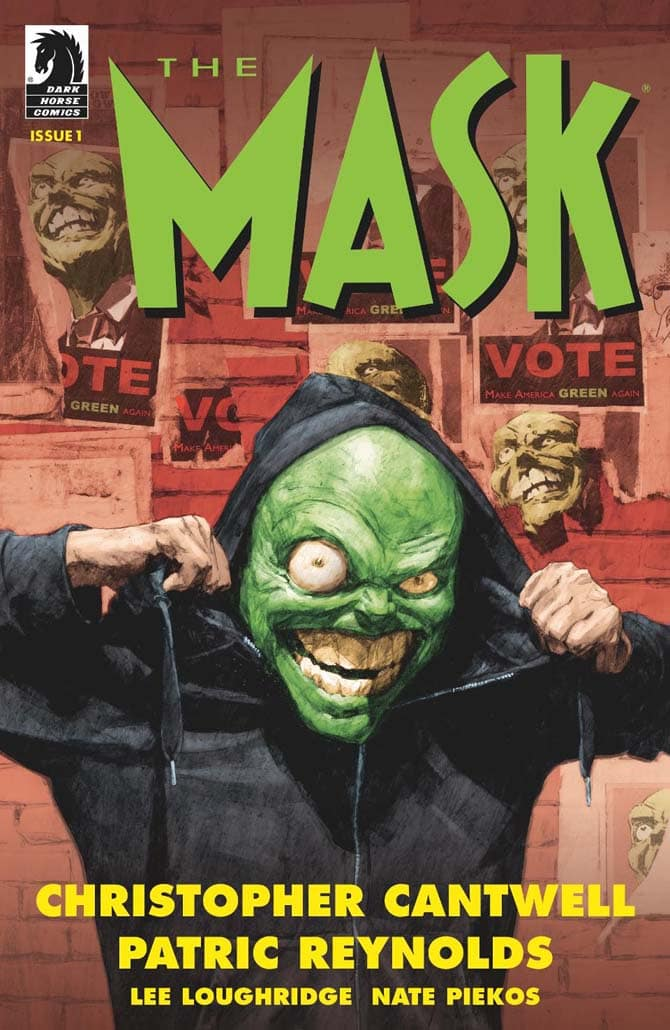 The Mask – Dark Horse lancia una nuova miniserie a fumetti
